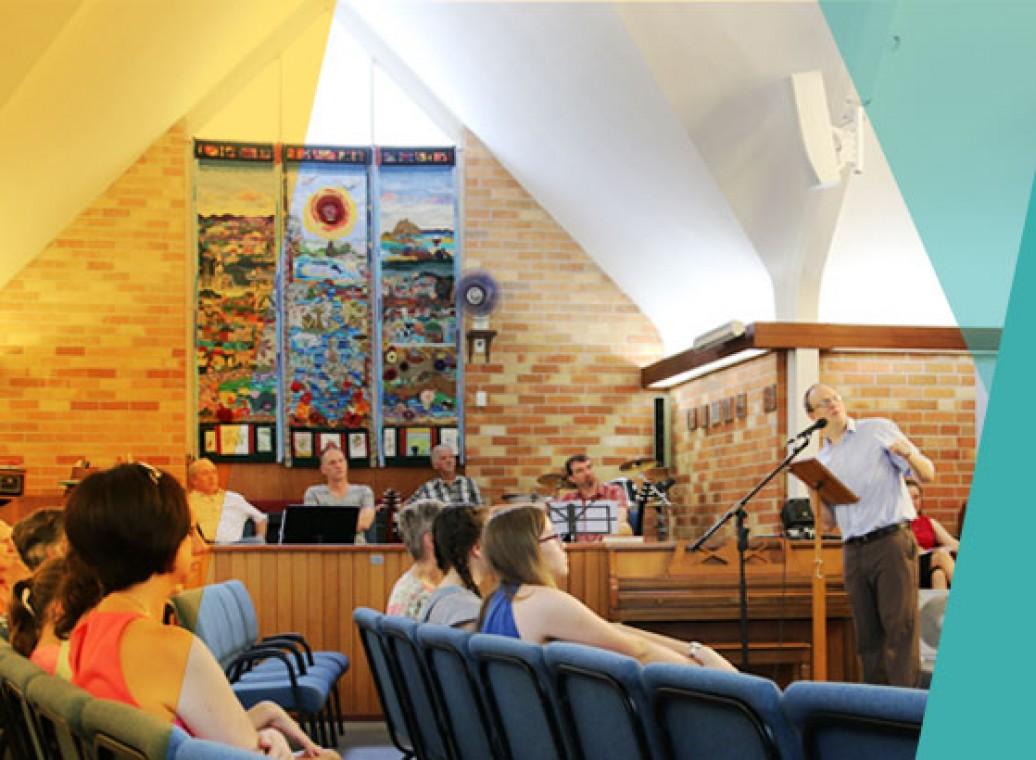 Church service at Trinity
